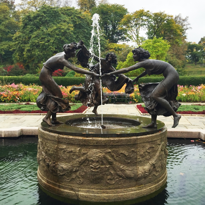 Full Time Explorer How to Spend a Day on the Upper East Side for under 30 dollars budget ues nyc new york city central park conservatory garden statue pond dance