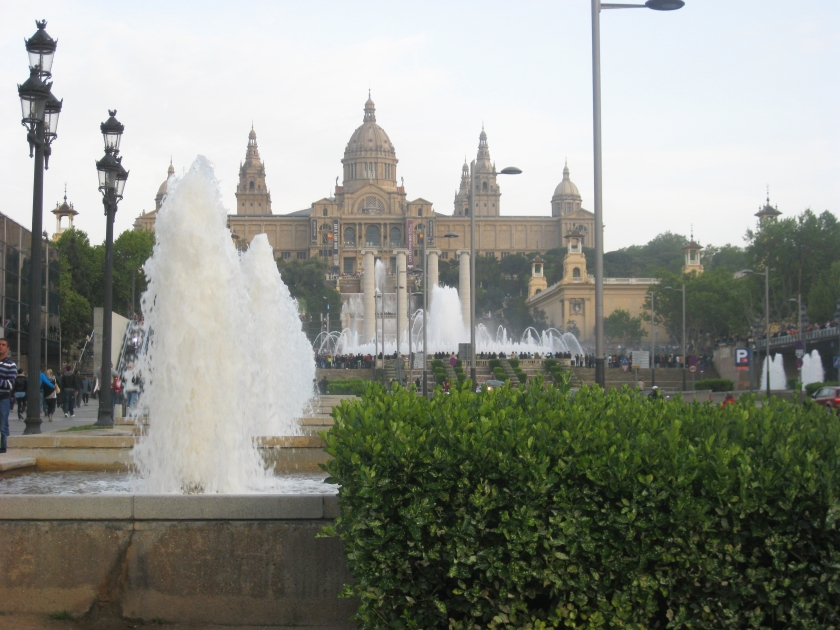 Things to do in Barcelona Spain Full Time Explorer Fountain Show MNAC Museum