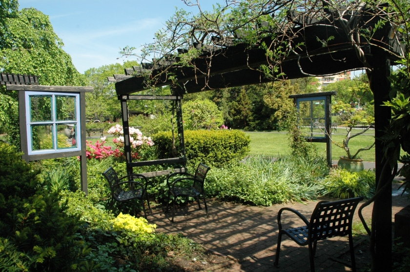 Things To Do in Flushing on a $30 a Day Budget botanical garden flower spring windows